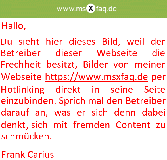 e-mail zurückrufen